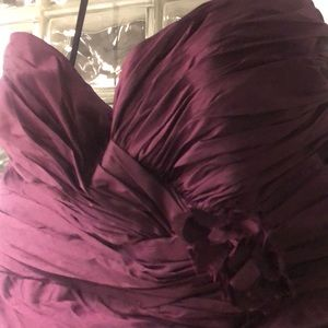 Brand New, Never Worn Eggplant Formal Dress